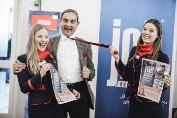 Jobmesse Deutschland: la fiera del lavoro tedesca e Arnaldo Mangini Clown
